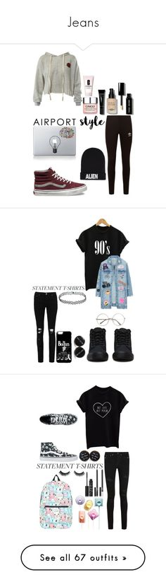 """""""Jeans"""" by kammmmmmxp ❤ liked on Polyvore featuring Dr. Martens, Boohoo, LE3NO, Floyd, PINTRILL, Lydell NYC, Eye Candy, Logophile, Skinnydip and Vans"""