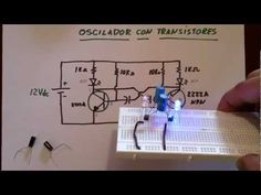 ✅ LED OSCILADOR CON TRANSISTORES (Plano) - YouTube