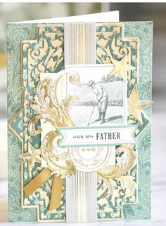 Anna Griffin, Cardmaking, Father, Handsome, Frame, Cards, Cricut Ideas, Home Decor, Kit
