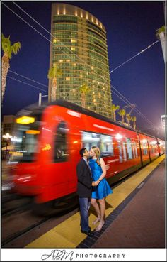 The Trolley is a Great Way to Get Around Downtown San Diego. Photo by ABM Photography