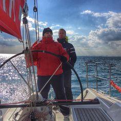 #Captain on board  #alfasail #yelken #yelkenciler #ig_Turkey #ig_yachtes #ig_yatching #ig_yelken #iphonegraphy #training #trainingday #yatching #yatches #igers #sailor #sailors #yelkenogreniyoruz #sailing #sailingphotography #sailingstagram #sailingstagram #sailboat #boats by kayihan34tr