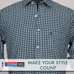 Stay cool this summer and get stylish and trendy with Donear NXG  #style #fashion #clothing #Men