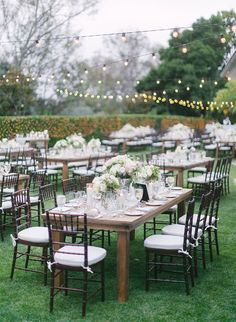 18 Ways to Design Your Garden Wedding - Inspired By This