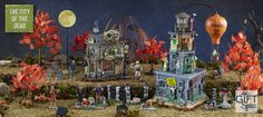 The City of the Dead collection on Gift Spice is a Zombie themed collection of Lemax Collectibles.