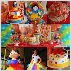 Snow White Birthday Party!!