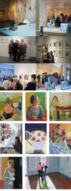 Nathalie Dion recently exhibited a series of gouaches at galerie Espace in Montreal along with illustrators Céline Malépart, Virginie Egger and Ninon Pelletier. Montreal, Illustrators, Playroom, Tea Cups, Inspiration, Art, Biblical Inspiration, Art Background, Game Room Kids