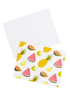 Fruits Boxed Card Set