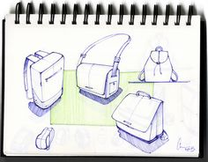 Some bag sketches #id #product #sketch