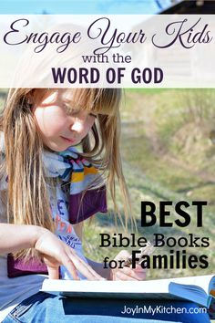 Introduce your kids to the wonder of God and His Word. Kids will enjoy family Bible time when you use one of these great family Bible story books.  Suggestions for kids of various ages.