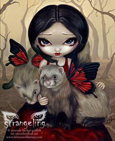Butterfly Ferrets - Jasmine Becket - Griffith