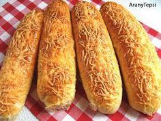 AranyTepsi: Sajtos stangli Hot Dog Buns, Hot Dogs, My Recipes, Recipies, Eat Your Heart Out, Hungarian Recipes, Hungarian Food, Pain, Scones