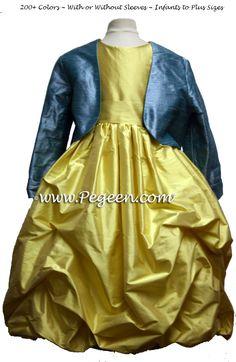 Beauty and the Beast Belle FLOWER GIRL DRESSES