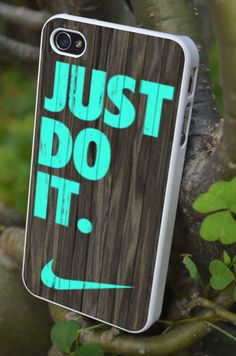 NIKE Just do it iphone 5/5s case, iphone 4/4s case, and samsung s3/s4 case on Etsy, $16.13 CAD