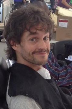 Hugh Dancy you are ridiculously adorable.