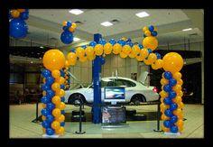 showroom balloon decor | Georgia Party Decoration Supplies & Party Decorating Ideas