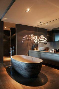 badgestaltung ideen schone bader badezimmer in schwarz duschkabine, Moderne deko