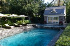 steps into the pool by Conte & Conte, LLC