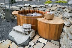Blog Cabin 2015 features a hot tub patio! Tour the entire backyard >> http://www.diynetwork.com/blog-cabin/2015/hot-tub-patio-pictures-from-diy-network-blog-cabin-2015-pictures?soc=pinterestbc15