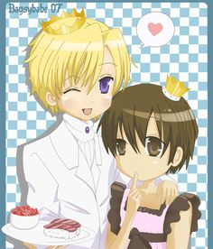 Tamaki are you finally giving Haruhi some fancy tuna