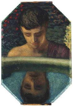 Narcissus ,Franz von Stuck