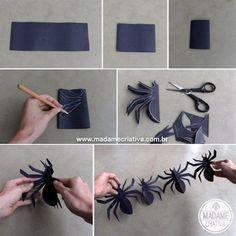 aranhas-de-papel-para-decoração-do-dia-das-bruxas.jpg 567×567 pixeles