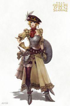 Mabnigi Heroes armor