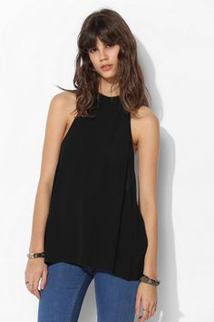 Sparkle & Fade Extreme T-Back Tank Top - Urban Outfitters