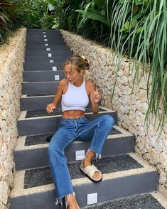 Mode Outfits, Fashion Outfits, Womens Fashion, Jeans Fashion, Spring Summer Fashion, Spring Outfits, Estilo Blogger, Outfit Goals, Cute Casual Outfits