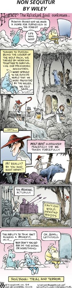 Non Sequitur Comic Strip, March 09, 2014 on GoComics.com