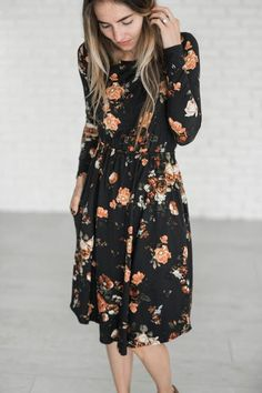 33ca8322371 Grace Floral Dress Casual Dresses