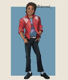 Charenel (@Charenel_art) / Twitter Michael Jackson Cartoon, Michael Jackson Story, Michael Jackson Photoshoot, Michael Jackson Drawings, Michael Jackson Wallpaper, Michael Jackson Thriller, Mike Jackson, Jackson Family, Michael Jackson Smooth Criminal