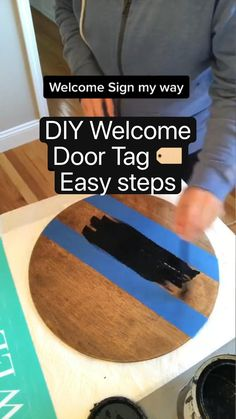 Diy Crafts For Home Decor, Diy Crafts Hacks, Diy Arts And Crafts, Cute Crafts, Fall Wood Crafts, Creative Crafts, Diy Crafts To Sell, Do It Yourself Videos, Do It Yourself Projects