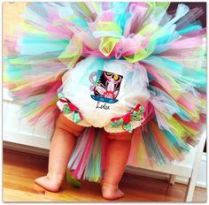 Tea Party Cutie Sewn Tutu sizes nb through 24m by TrinitysTutus, $25.00