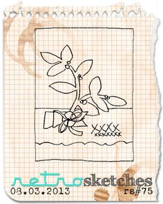 The Nature of Crafty Things: RetroSketch #75
