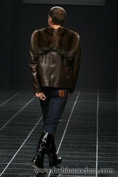 Volvo-Fashion Week in Moscow. Day5: H.S. Fur Men's Collection - Fashion Socium