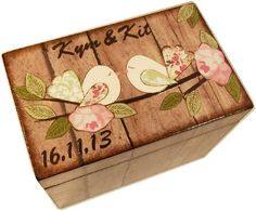 Wedding Guest Book Box Alternative for 4x6 by GiftsAndTalents, $34.00