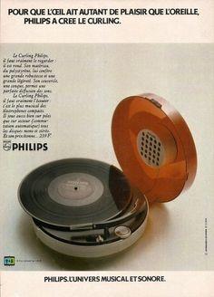 Platine Philips, 1970's