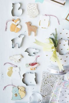 here's something you can do with the kids - use cookie cutters with oven baked clay to create holiday ornaments