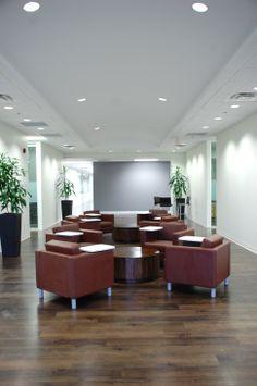 Kate Davidson Design - Corporate Head Office Ground Floor Lounge  www.katedavidsondesign.com