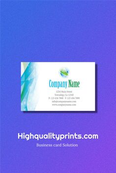 Business card: An easy way to promote your brand!   Read more: http://bit.ly/1XsswGB