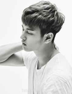 iKON Chanwoo - Harper's Bazaar Magazine February Issue '16