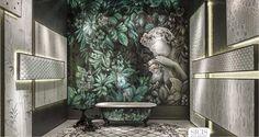Znalezione obrazy dla zapytania łazienka vintage na poddaszu