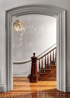 perfect scale in this elegant entrance, (Foto: Bruce Buck/ The New York Times)