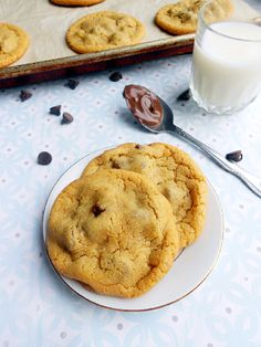Culinary Couture: Nutella Stuffed Chocolate Chip Cookies For Two