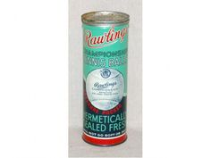 718: Vintage Rawlings Championship Tennis Balls In Can : Lot 718 - found free in TC July 2014