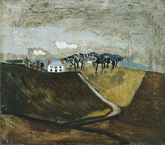 thorsteinulf:  Ben Nicholson - 1930 (Cumberland farm) (1930)