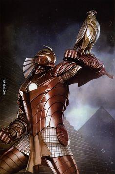 Egyptian Iron Man. Epic.