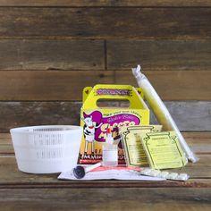 DIY Make Your Own Cheese Kit - Basic Hard Cheese - Cheese Making Kits