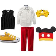 """Mickey Mouse"" by chelly-deleon on Polyvore"