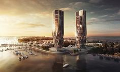 This is a new addition proposed for the Gold Coast in Australia. The developer is Sunland Group, the architect Zaha Hadid. Zaha Hadid Design, Arquitetos Zaha Hadid, Zaha Hadid Architects, Famous Architects, Amazing Architecture, Architecture Details, Chinese Architecture, Architecture Portfolio, Zaha Hadid Buildings